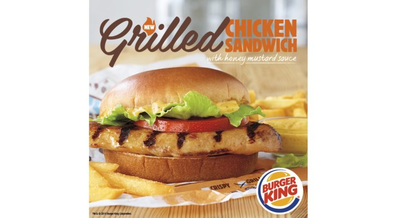 Burger King Menu