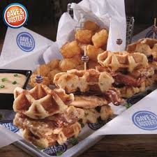 Dave and Busters menu