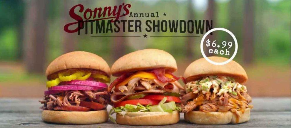 Sonny's Menu