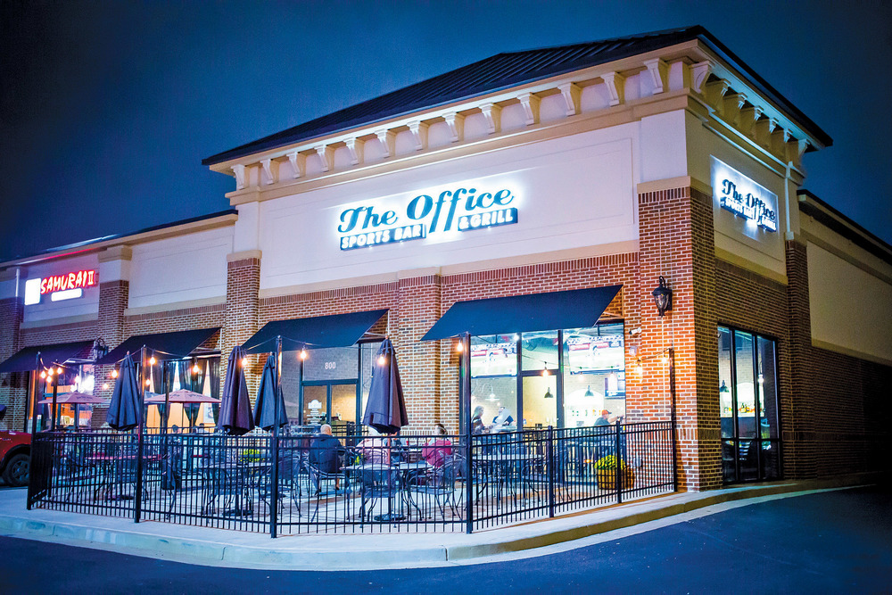 The Office Bar and Grill Menu